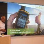 Dr. Jürgen Wolf mit seinem Vortrag zum Thema Digitalisierung im Kundenmanagement