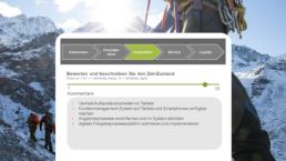 curexus Digitalisierungs-Check Frage Ziel Awareness